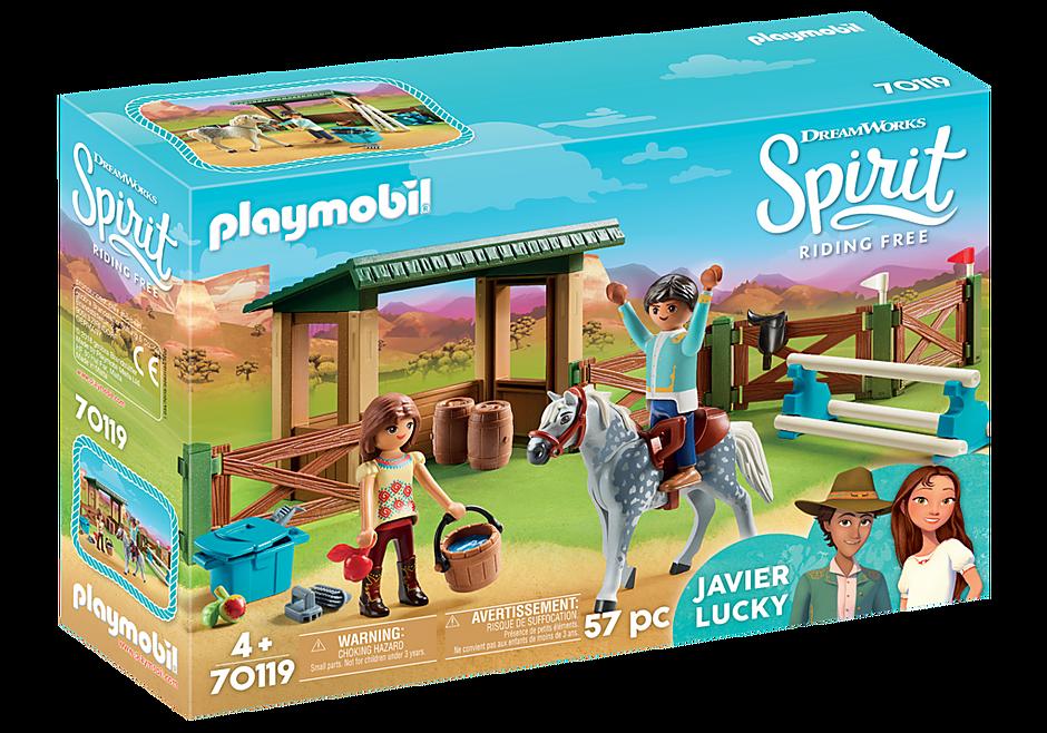 http://media.playmobil.com/i/playmobil/70119_product_box_front/Στίβος Ιππασίας με τη Λάκυ και τον Χαβιέρ