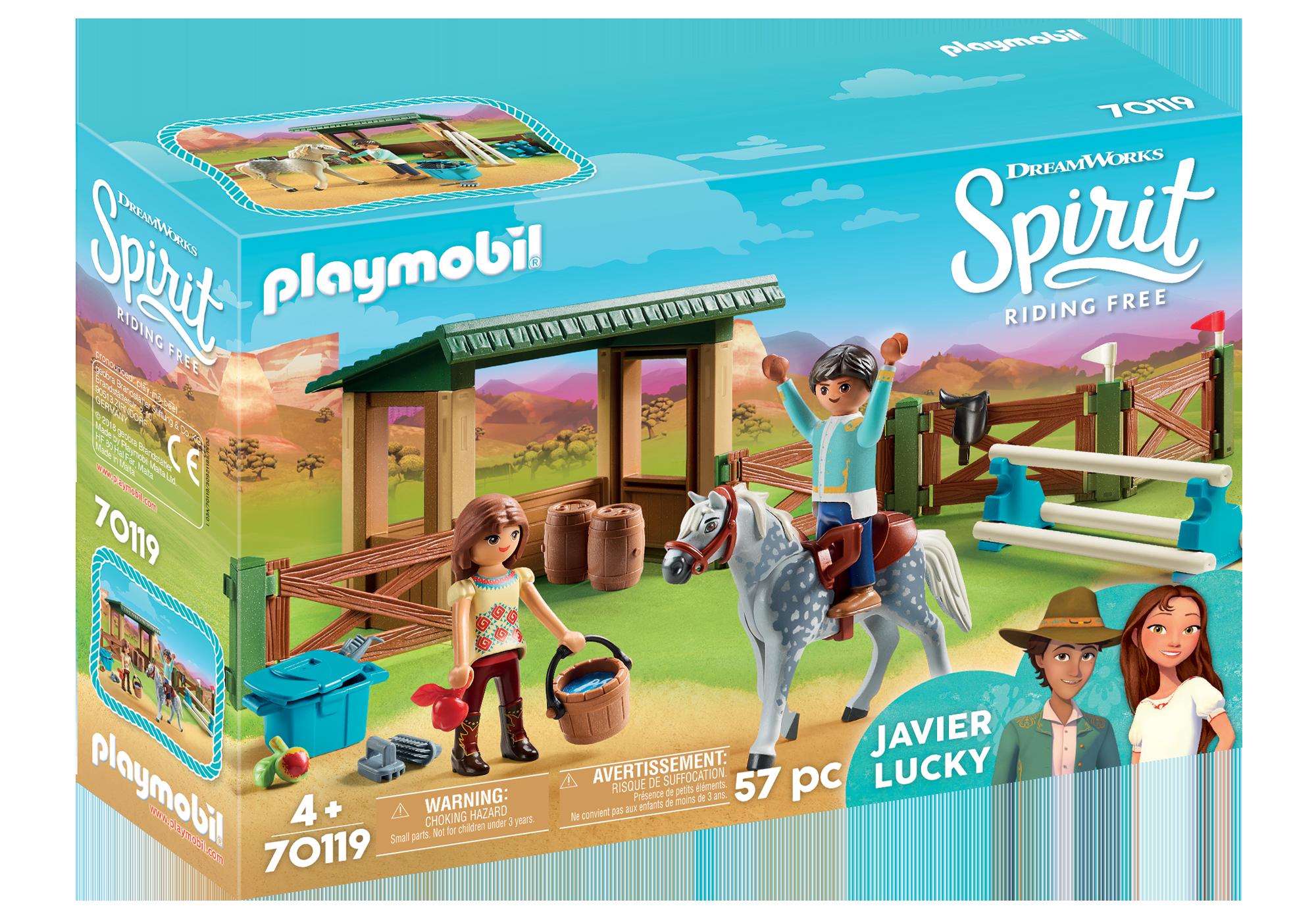 http://media.playmobil.com/i/playmobil/70119_product_box_front/Espace d'entrainement avec Lucky et Javier