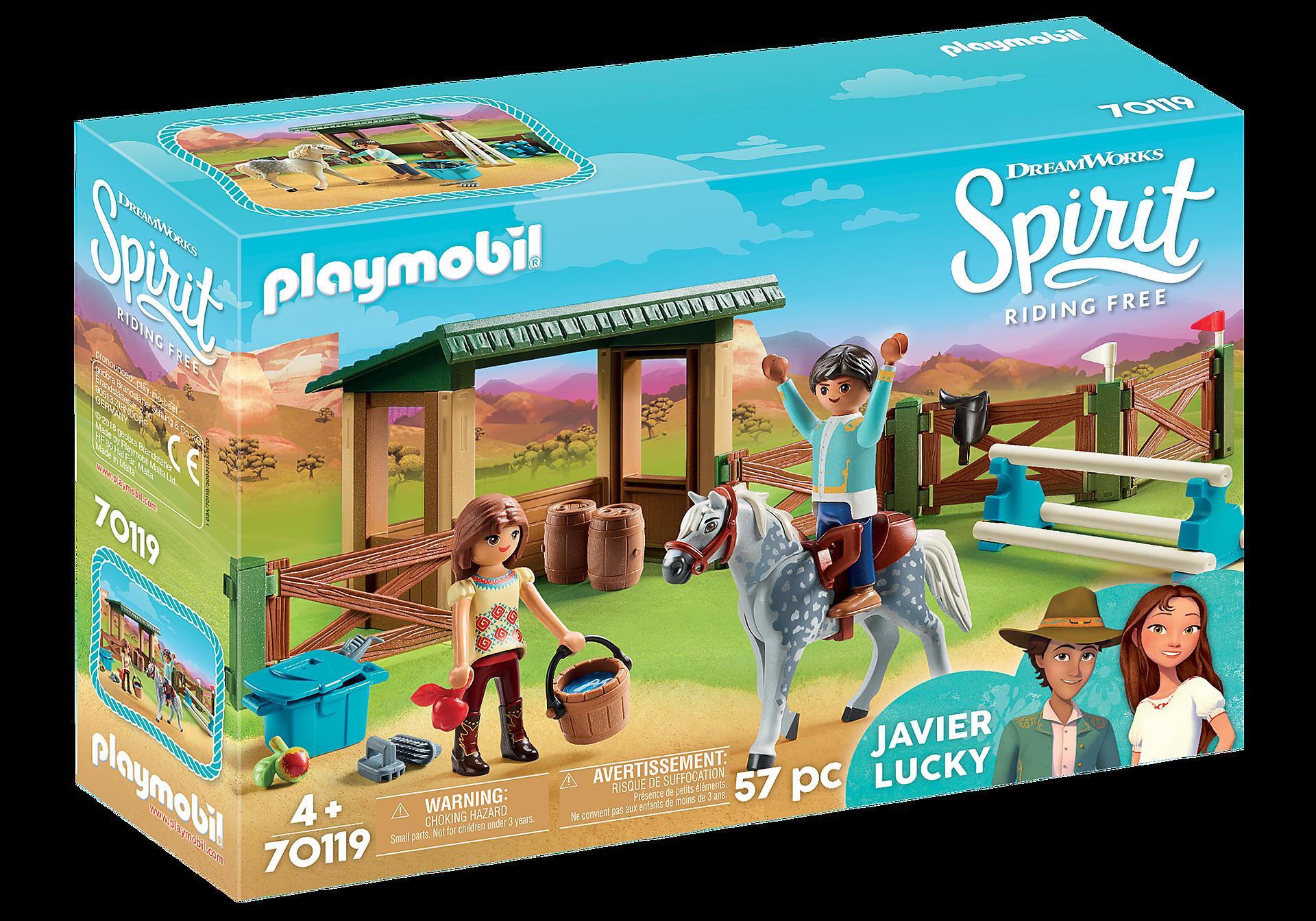 http://media.playmobil.com/i/playmobil/70119_product_box_front/Ridarena med Lucky och Javier