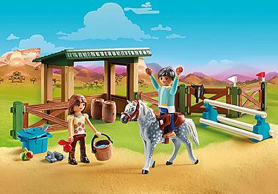 70119 Ridebane med Lucky og Javier