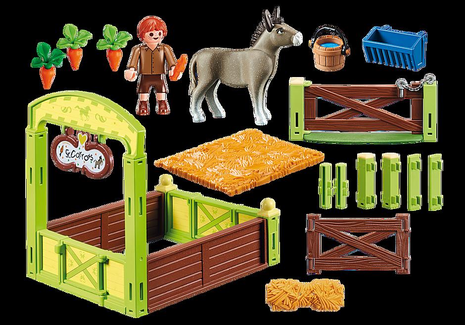70120 Knip en Meneer Worteltjes met paardenbox detail image 3
