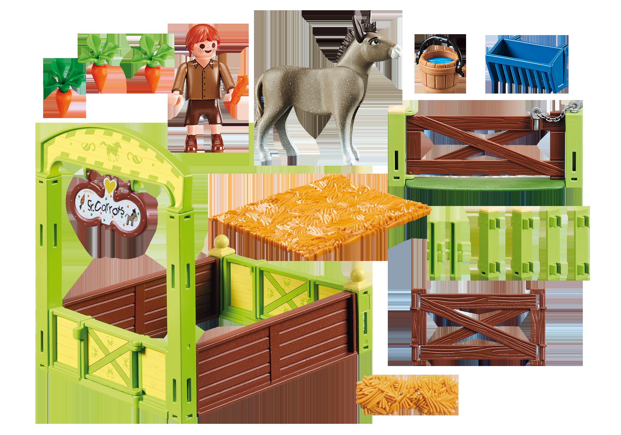 "http://media.playmobil.com/i/playmobil/70120_product_box_back/Pferdebox ""Snips & Herr Karotte"""