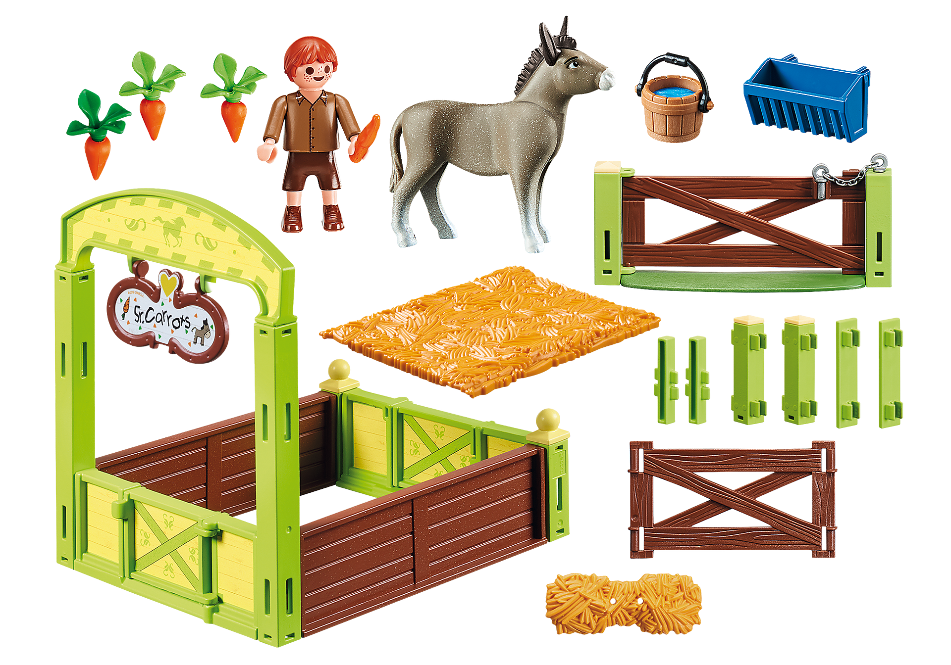 70120 Snips and Señor Carrots with Horse Stall zoom image3