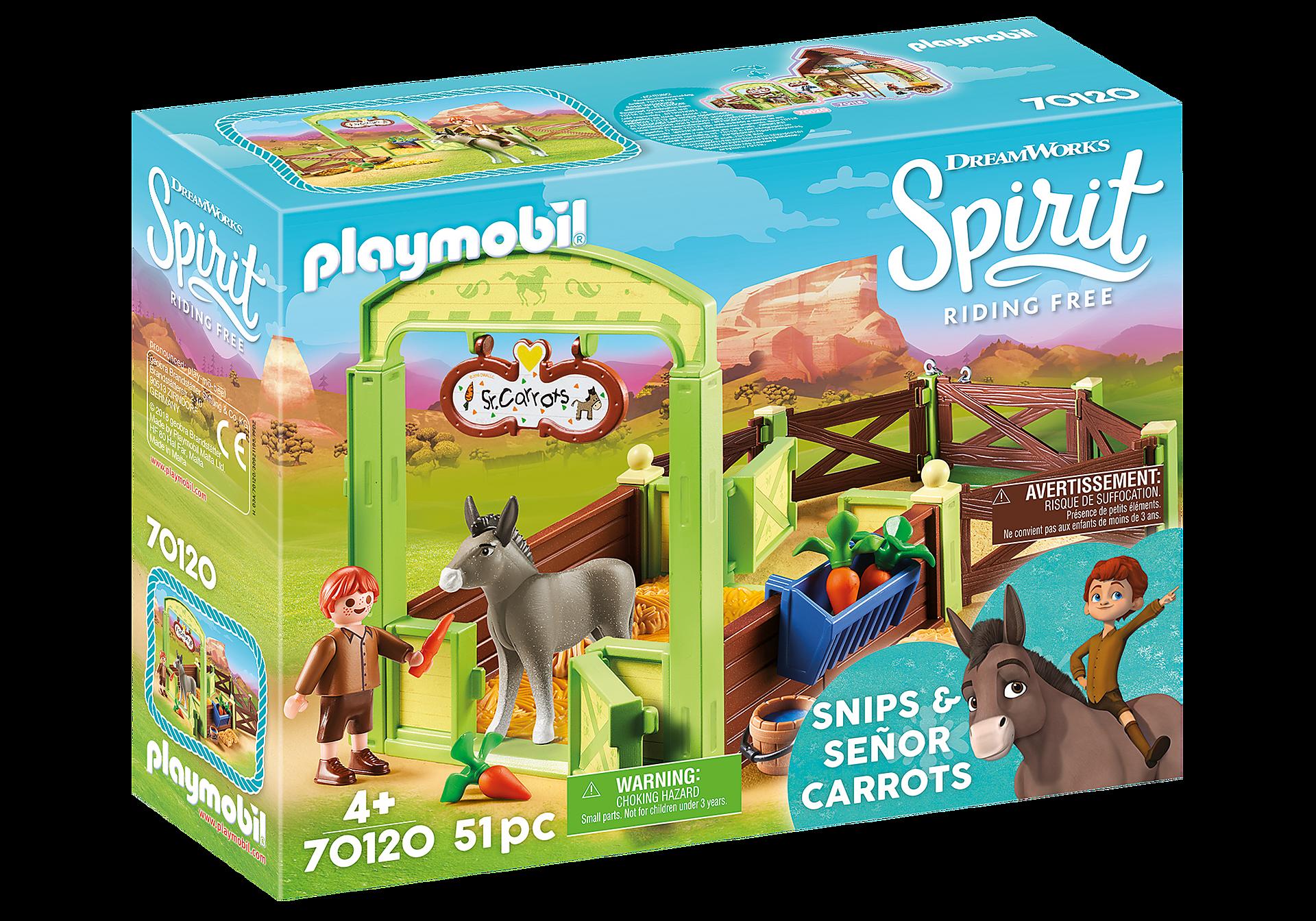 70120 Snips og Señor Carrots med hestestald zoom image2