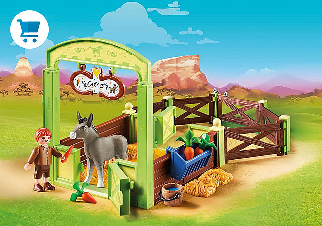 "70120_product_detail/Horse Box ""Snips & Señor Carrots"""