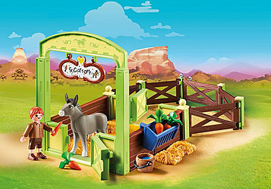 70120 Snips and Señor Carrots with Horse Stall