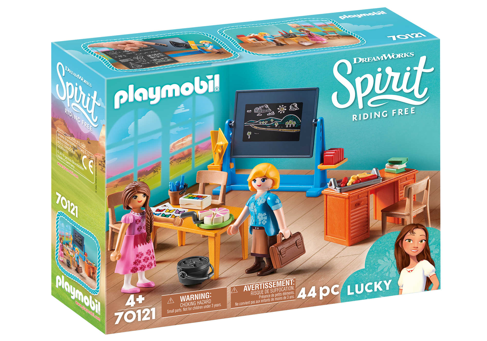 """http://media.playmobil.com/i/playmobil/70121_product_box_front/Clase """"Stra. Flores"""""""
