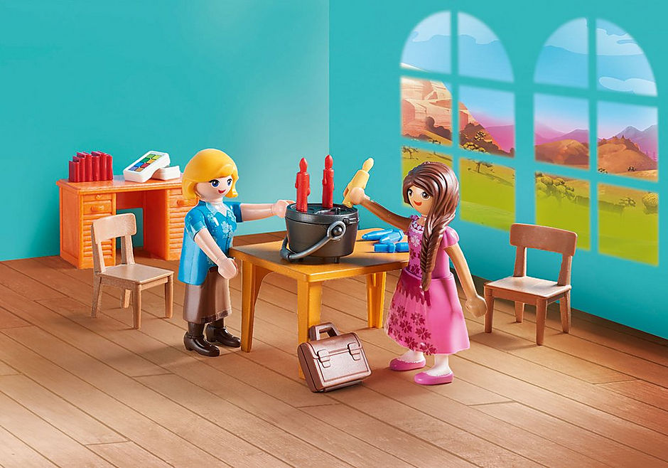 http://media.playmobil.com/i/playmobil/70121_product_extra2/Mademoiselle Kate Flores et salle de classe