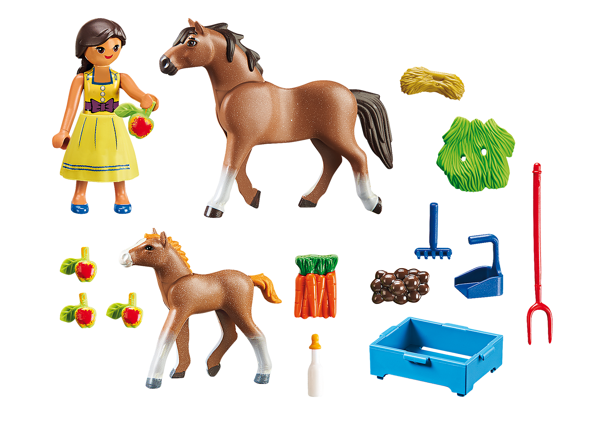70122 Pru con cavallo e puledro zoom image3