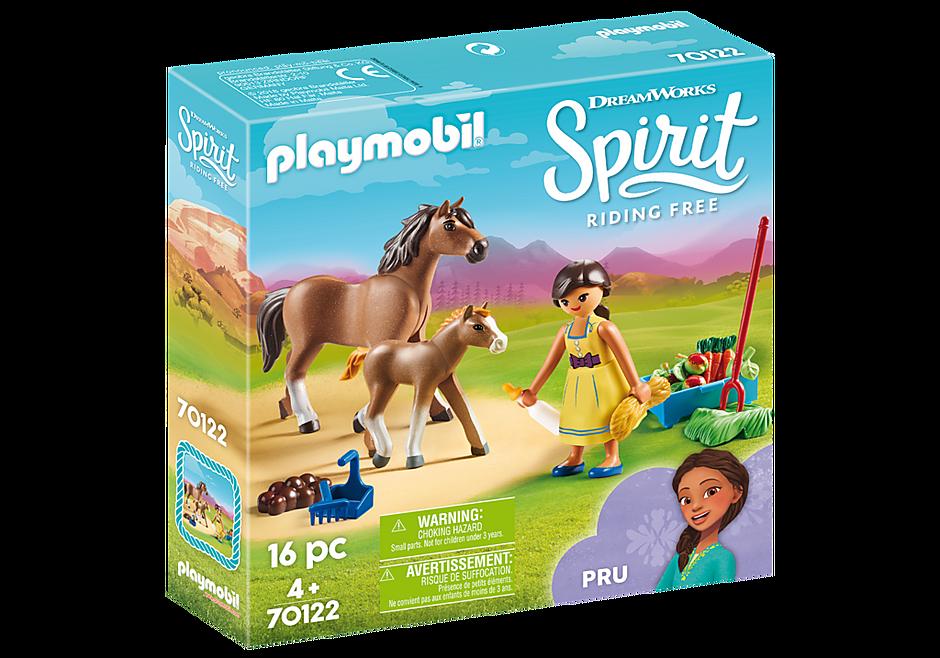 70122 Η Πρου με άλογο και πουλάρι detail image 2