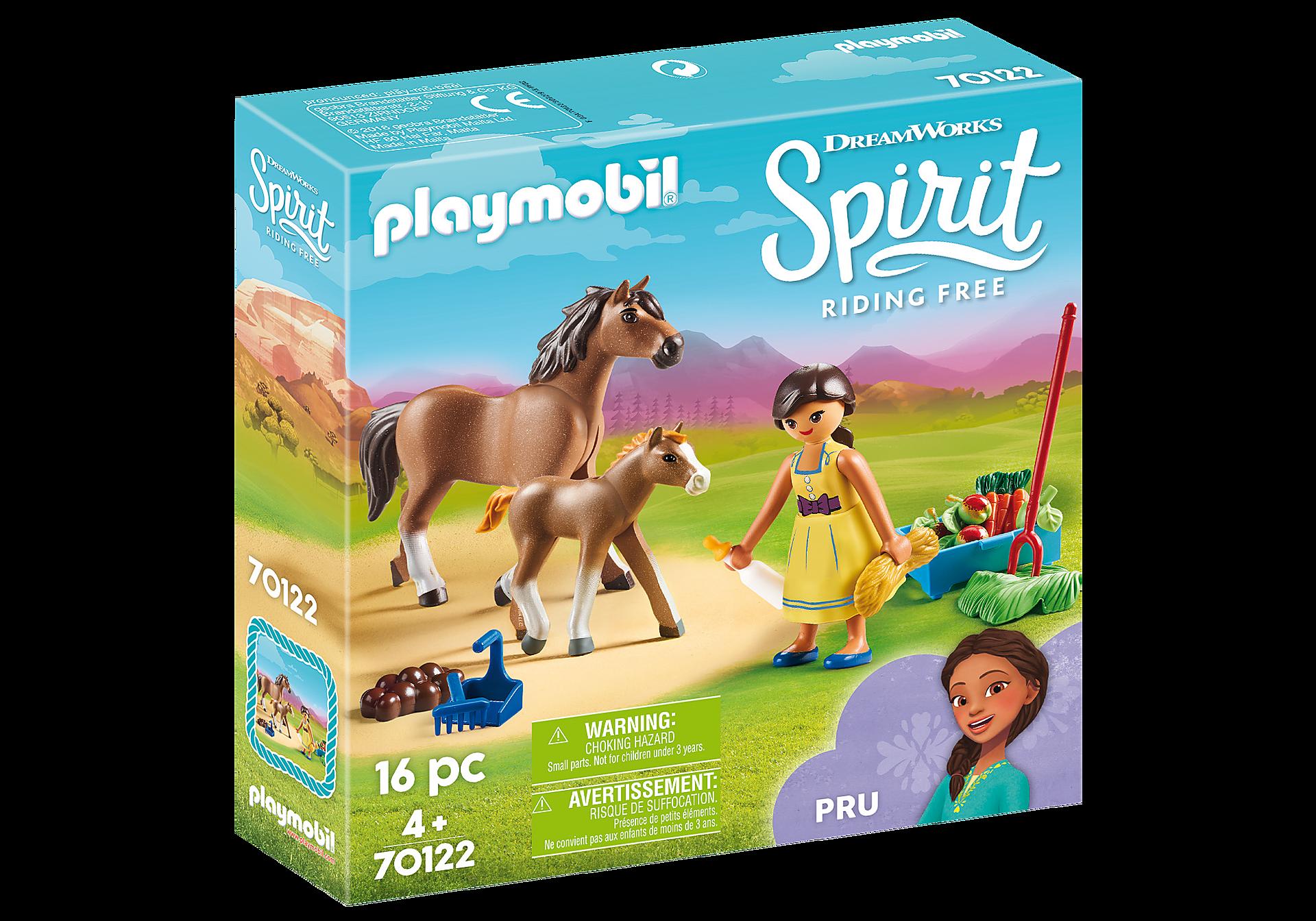 70122 Η Πρου με άλογο και πουλάρι zoom image2
