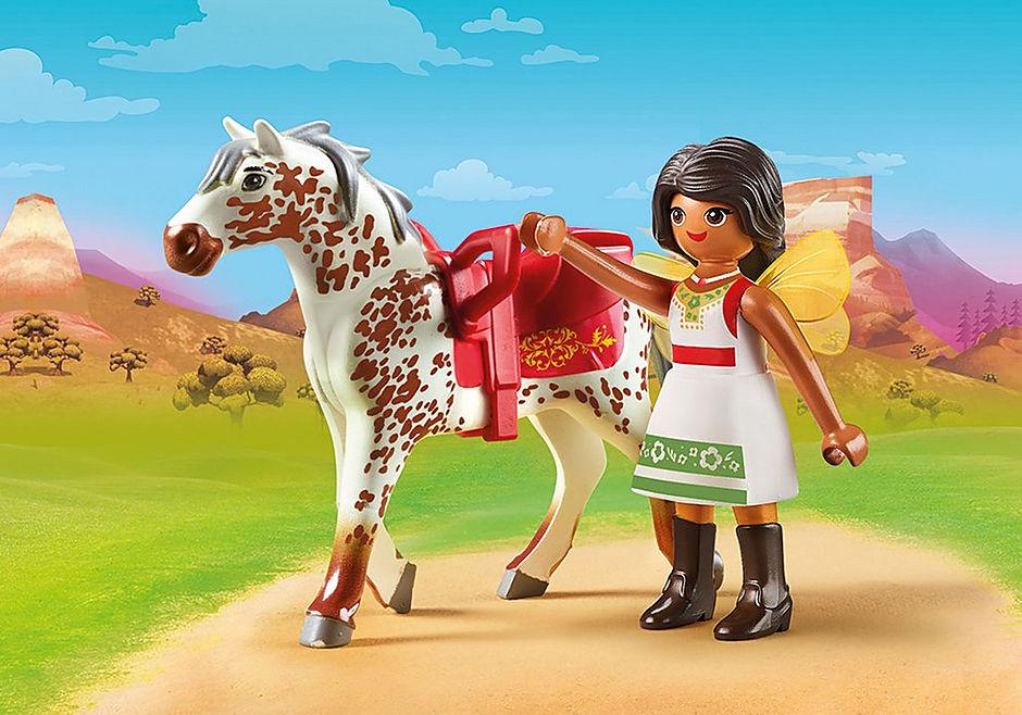 http://media.playmobil.com/i/playmobil/70123_product_detail/Solana beim Voltigieren