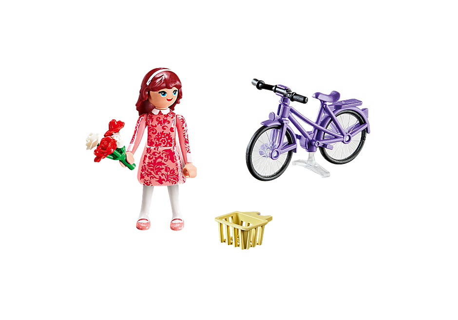70124 Maricela with Bicycle detail image 3