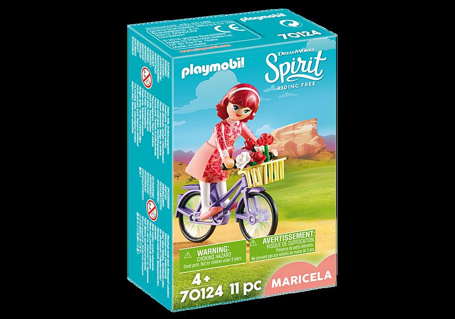 70124 Maricela met fiets detail image 2