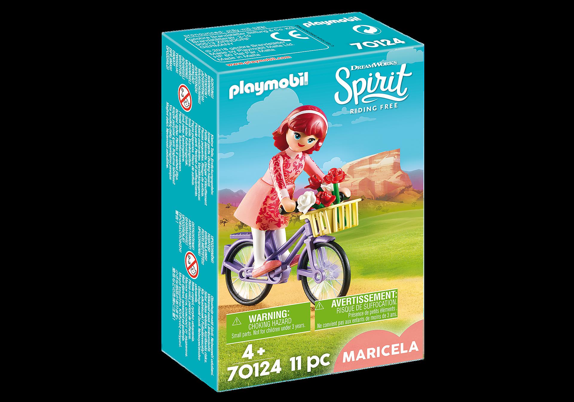 70124 Maricela met fiets zoom image2