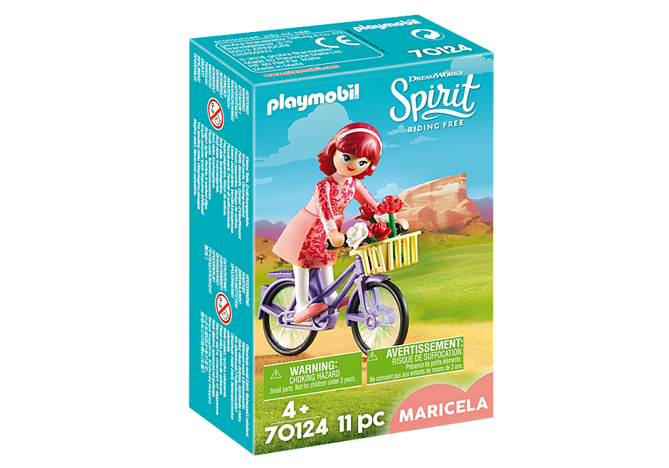70124 Maricela mit Fahrrad detail image 2