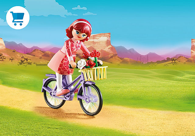 70124_product_detail/Maricela z rowerem