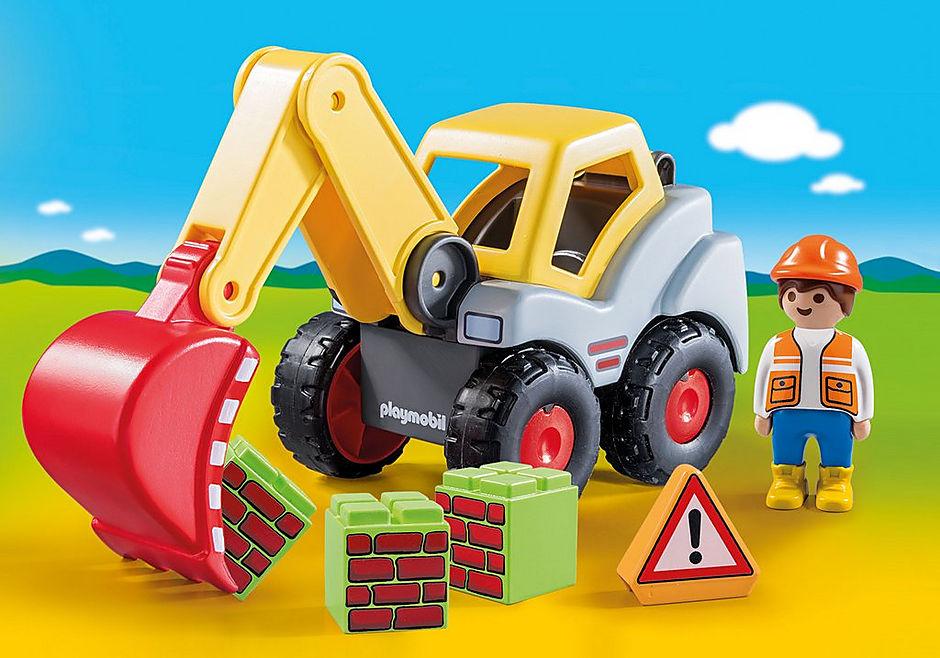 70125 Shovel Excavator detail image 1