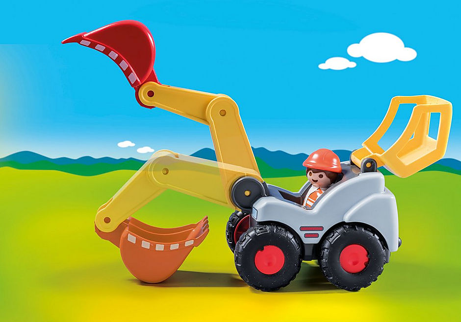 70125 Shovel Excavator detail image 4