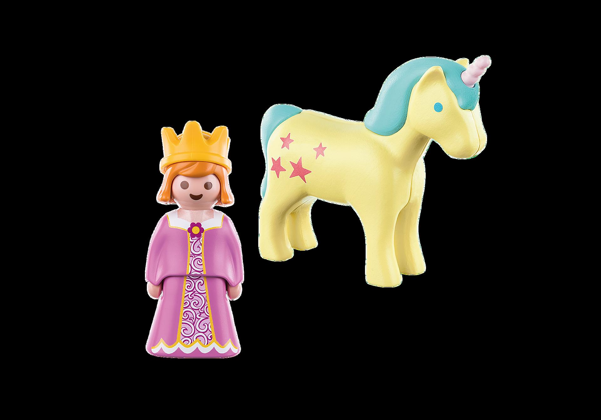 70127 1.2.3 Princesa con Unicornio zoom image3