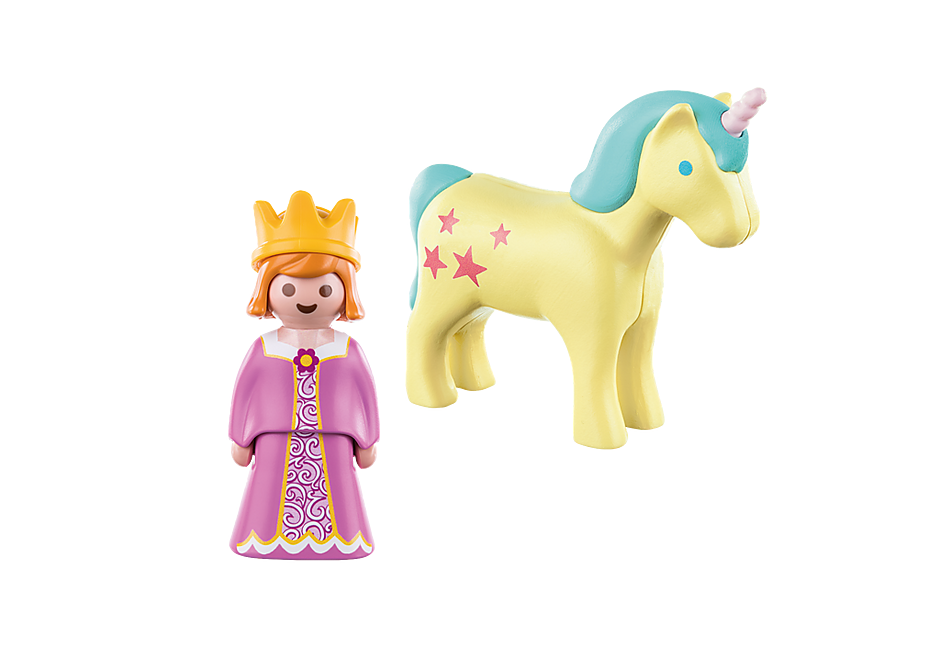70127 Princesse et licorne  detail image 3