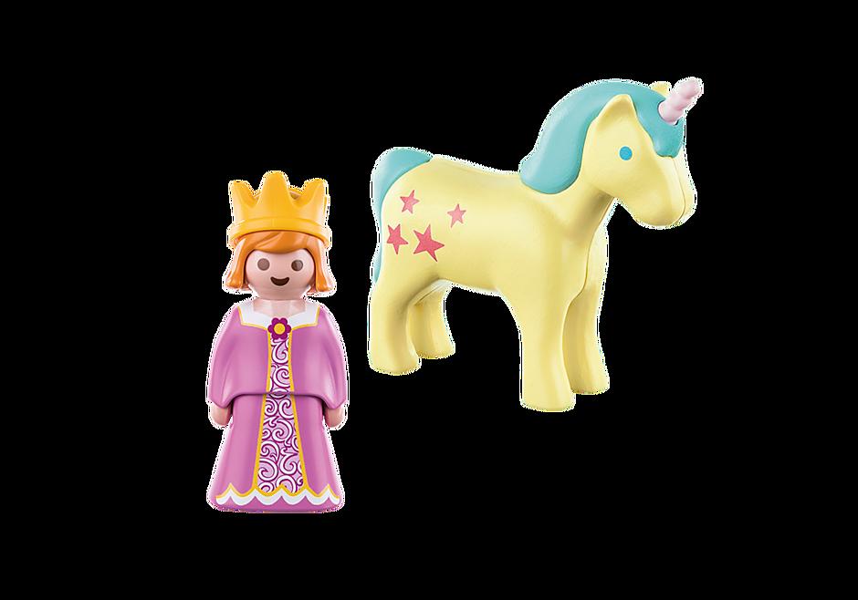 70127 Prinzessin mit Einhorn detail image 3