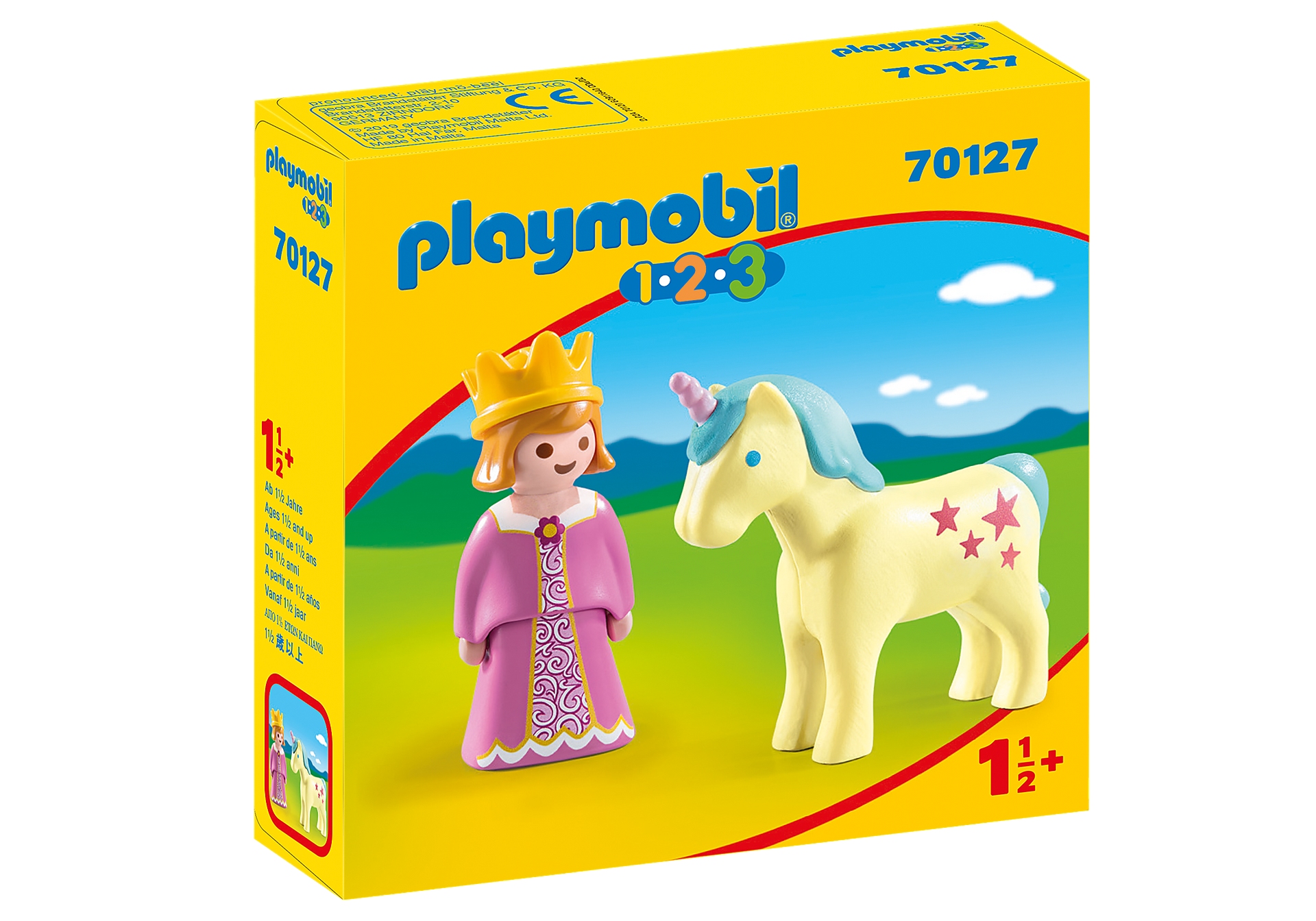 70127 Princess with Unicorn zoom image2
