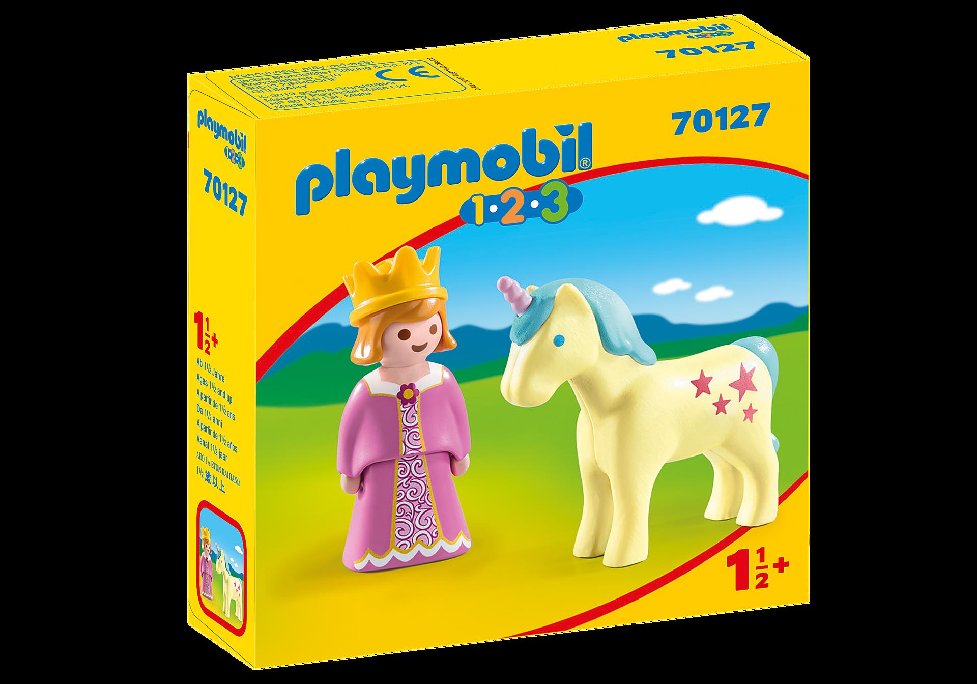 70127 Principessa con Unicorno 1.2.3 zoom image2