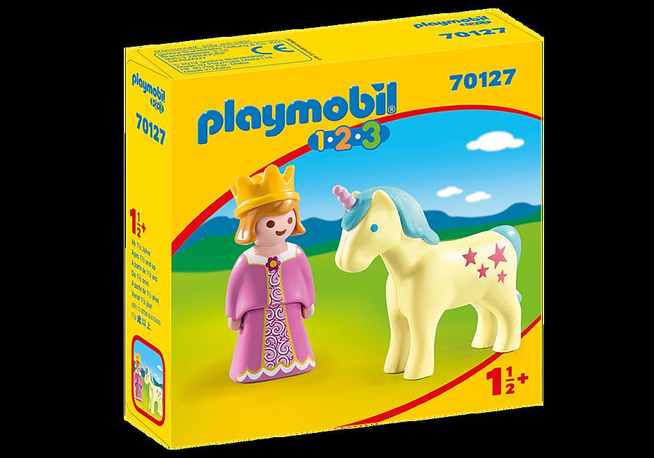 70127 Prinzessin mit Einhorn detail image 2