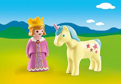 70127 Princesa com Unicórnio