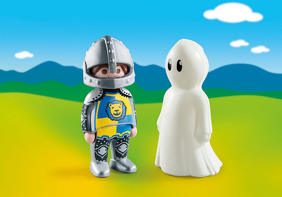 70128 Knight with Ghost detail image 1