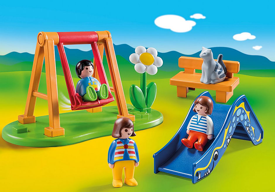 http://media.playmobil.com/i/playmobil/70130_product_detail/Children's Playground