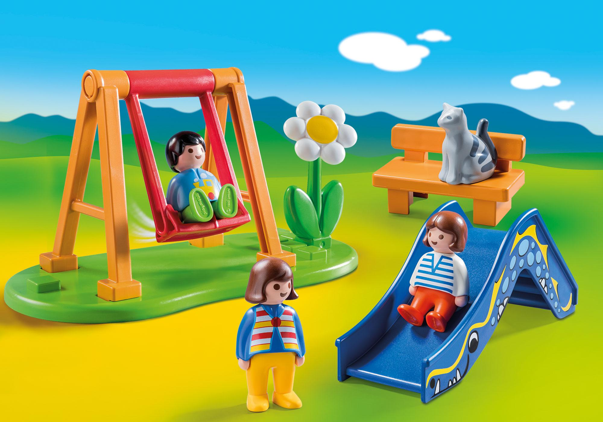 http://media.playmobil.com/i/playmobil/70130_product_detail/Children's Playground