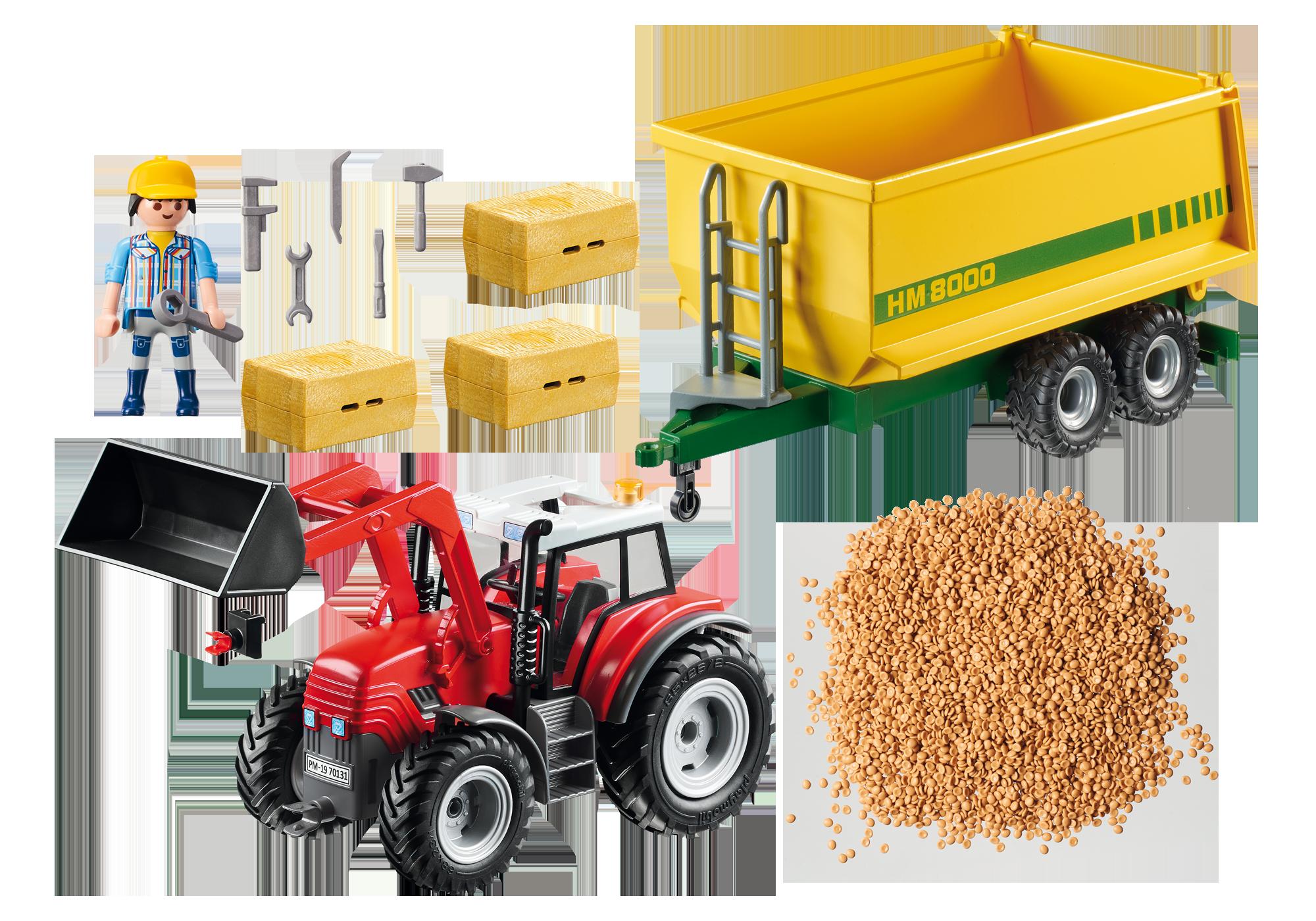 http://media.playmobil.com/i/playmobil/70131_product_box_back/Riesentraktor mit Anhänger