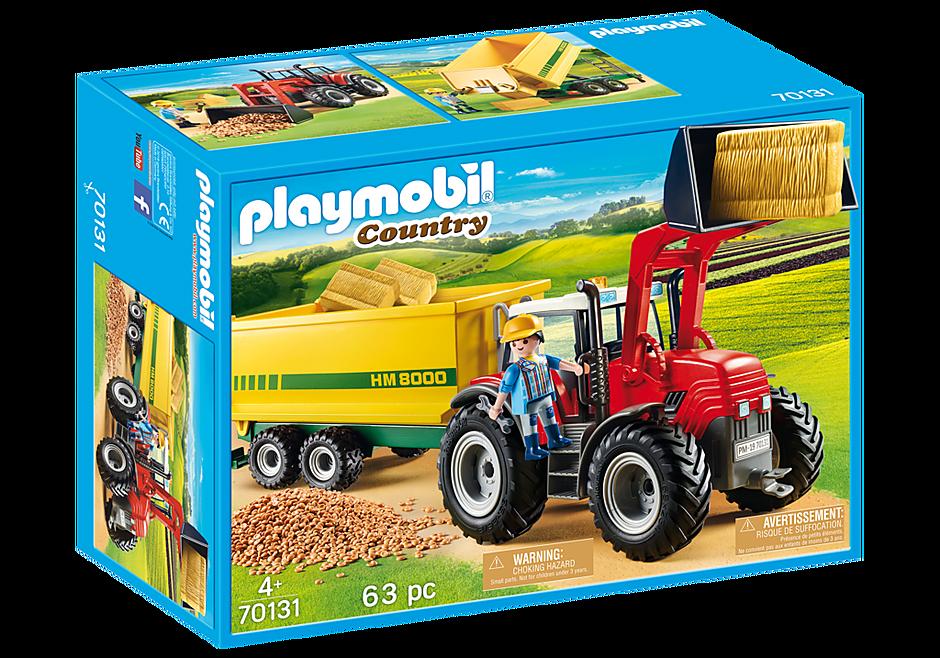 70131 Traktor med fodervogn detail image 2