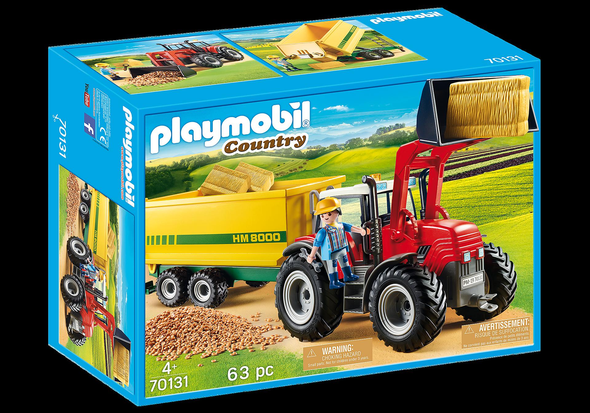 70131 Traktor med fodervogn zoom image2