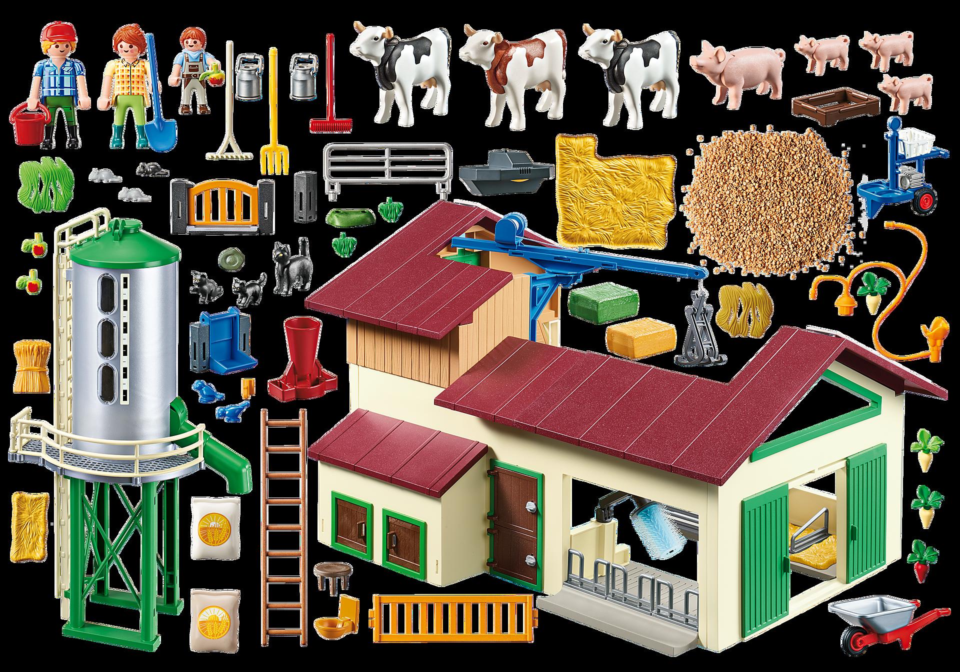 70132 Duże gospodarstwo rolne z silosem zoom image3