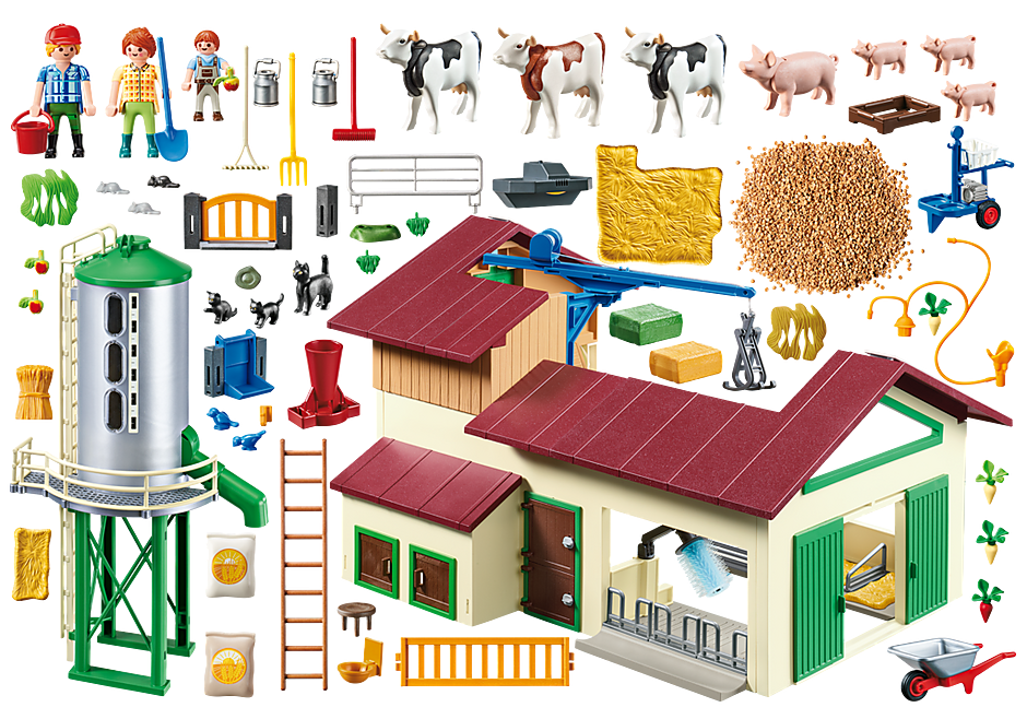 70132 Farm with Animals detail image 3