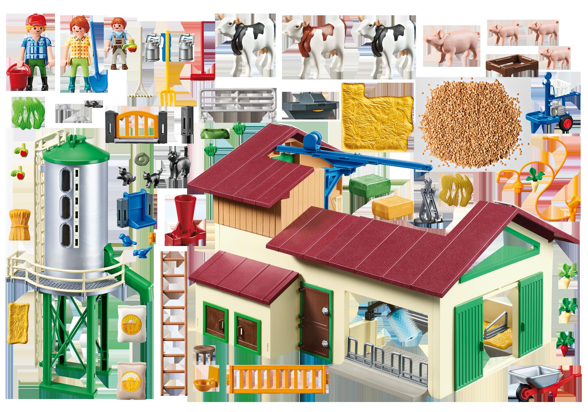 http://media.playmobil.com/i/playmobil/70132_product_box_back/Gård med dyr