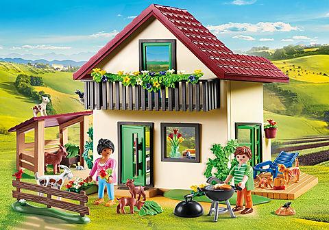 70133 Casa con allevamento Bio