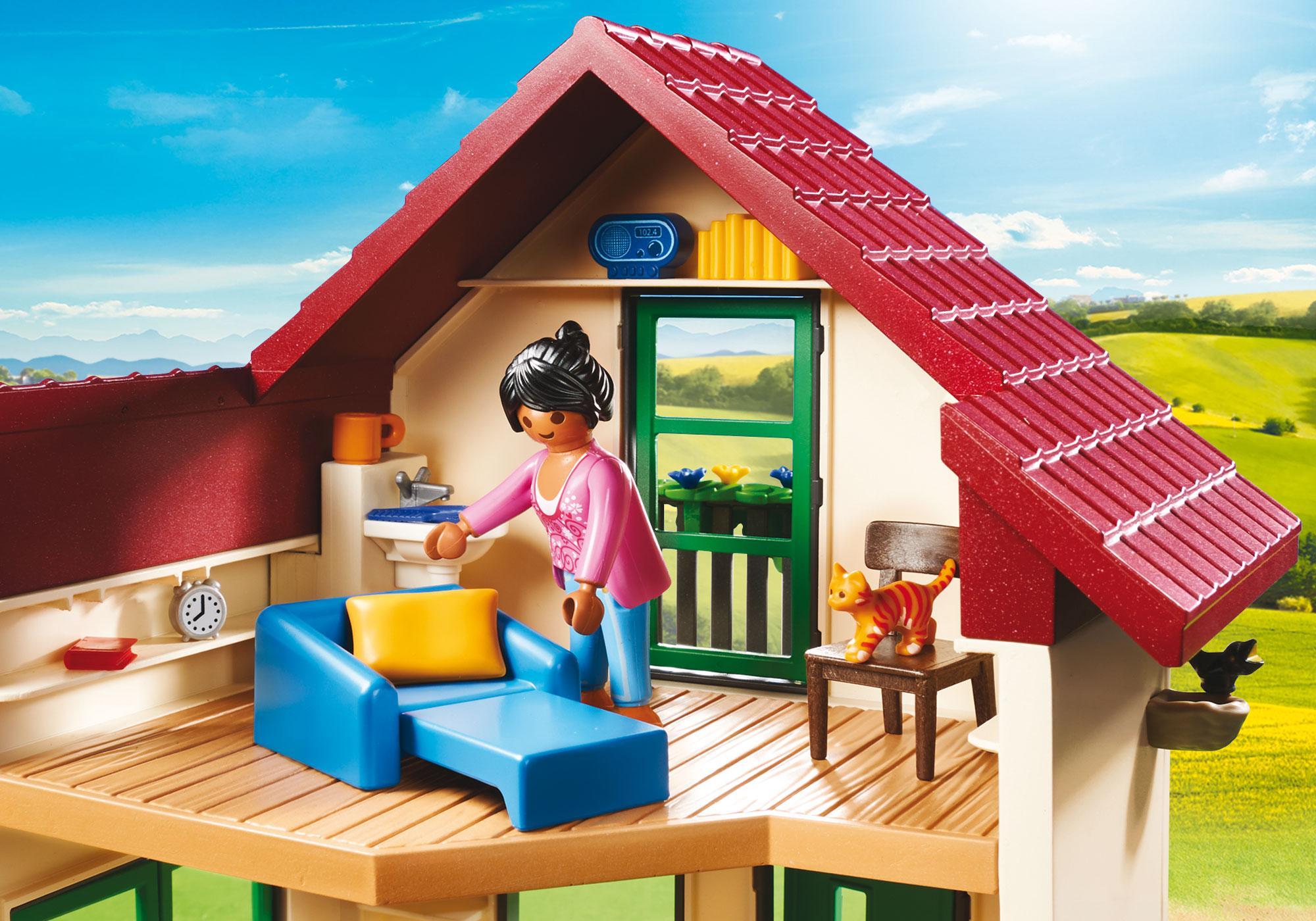http://media.playmobil.com/i/playmobil/70133_product_extra2/Moderne gårdhus
