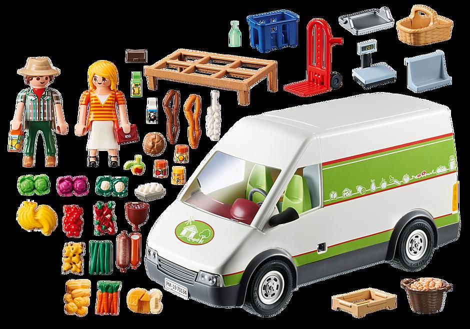 70134 Samochód do sprzedaży owoców i warzyw detail image 4