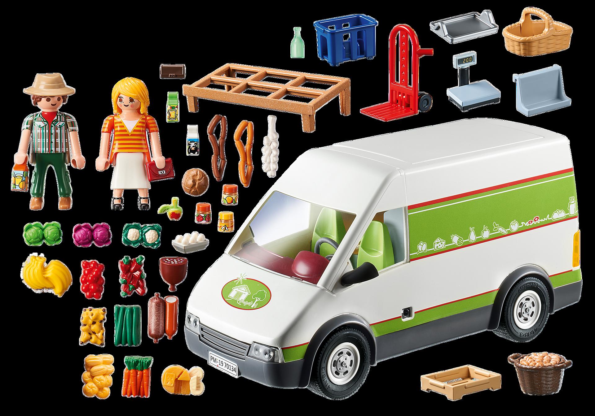 70134 Samochód do sprzedaży owoców i warzyw zoom image4