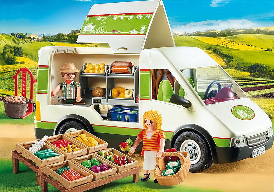 70134 Marktkraamwagen detail image 1
