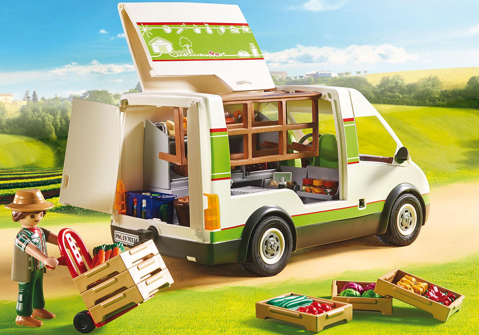 70134 Samochód do sprzedaży owoców i warzyw zoom image5