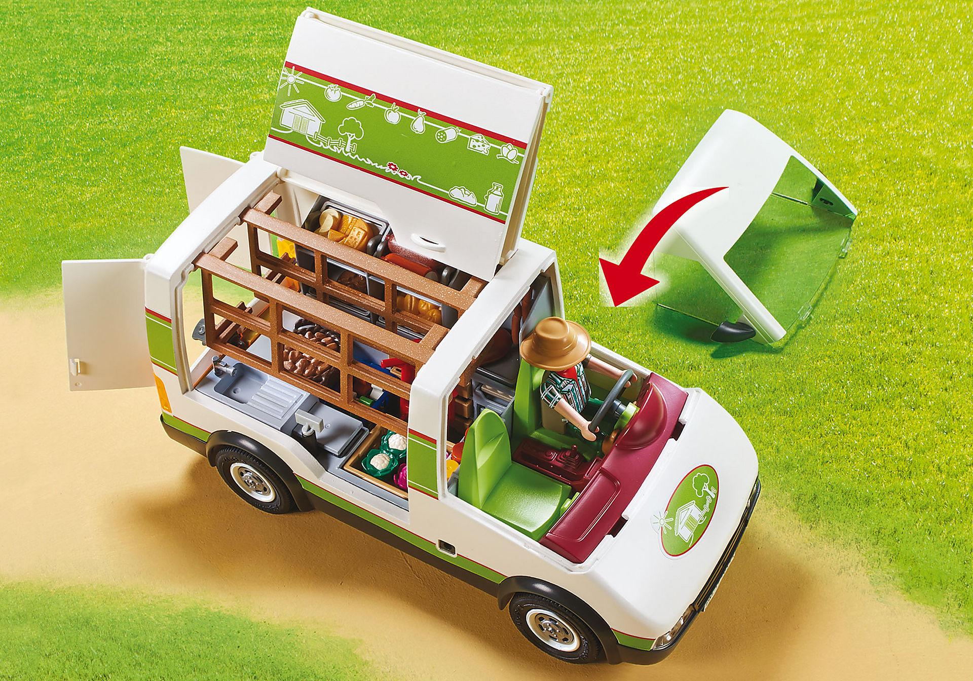 70134 Furgone Mercato Bio zoom image5