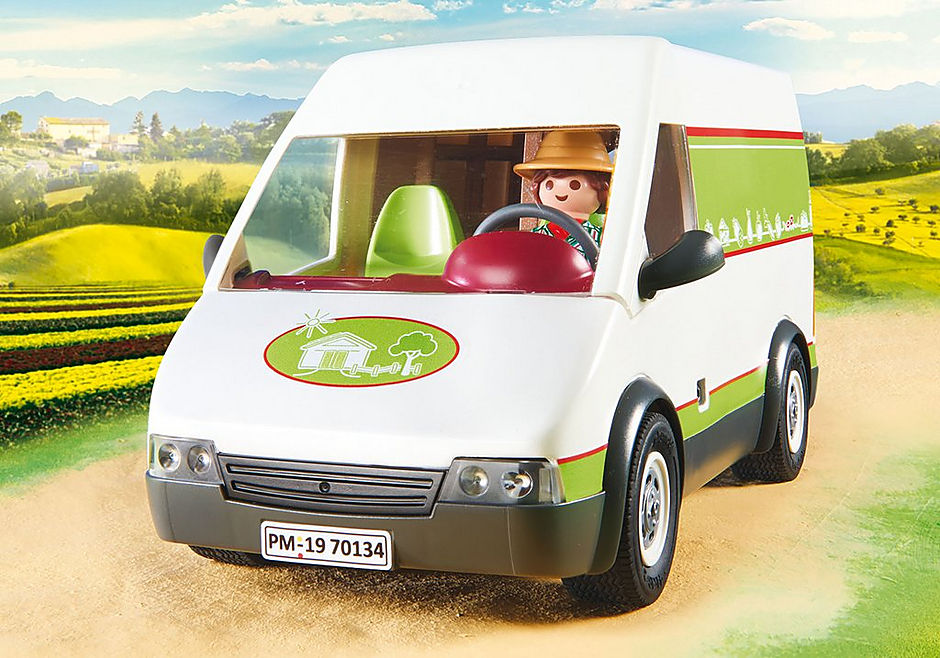 70134 Samochód do sprzedaży owoców i warzyw detail image 7