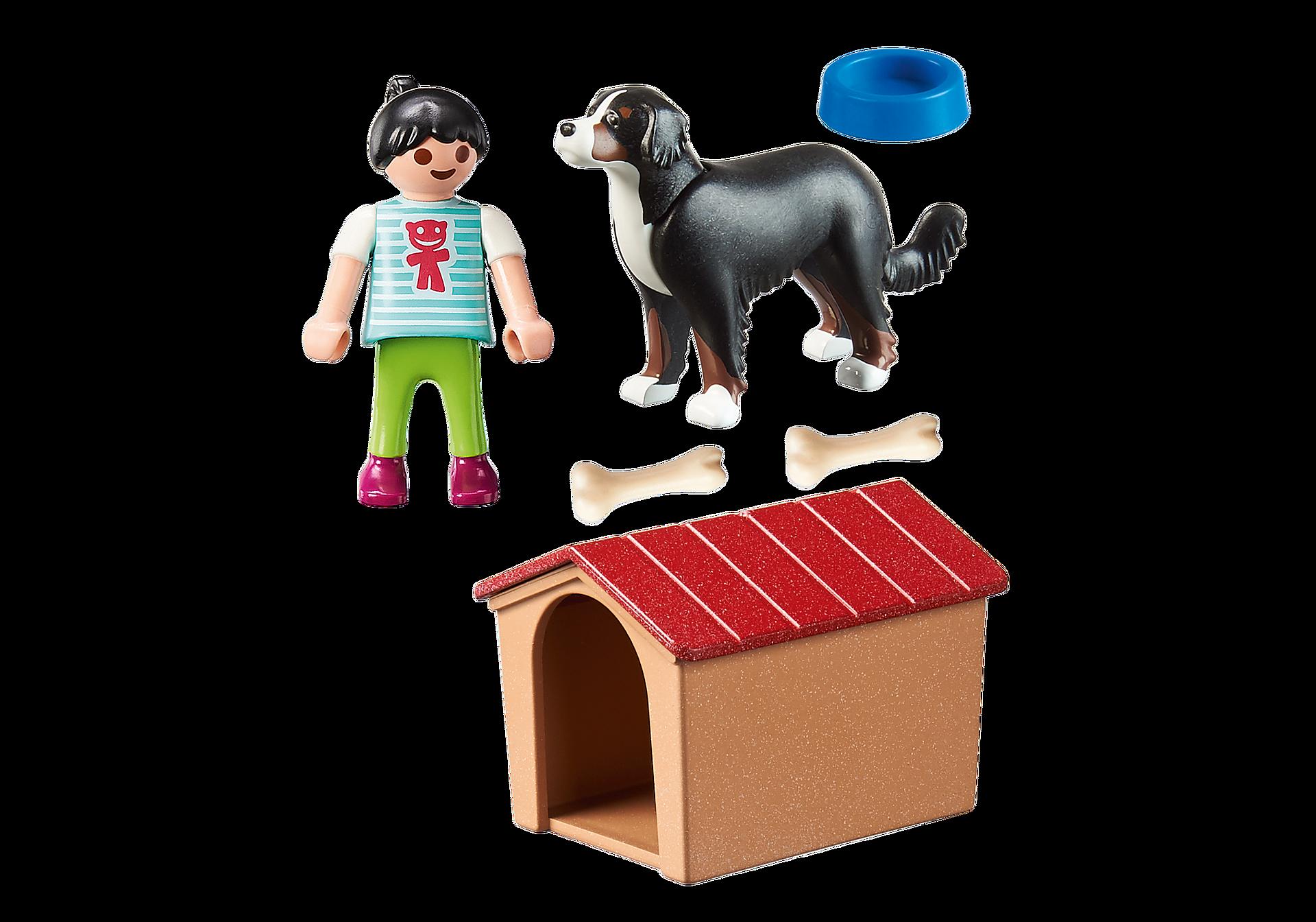 70136 Enfant avec chien zoom image3