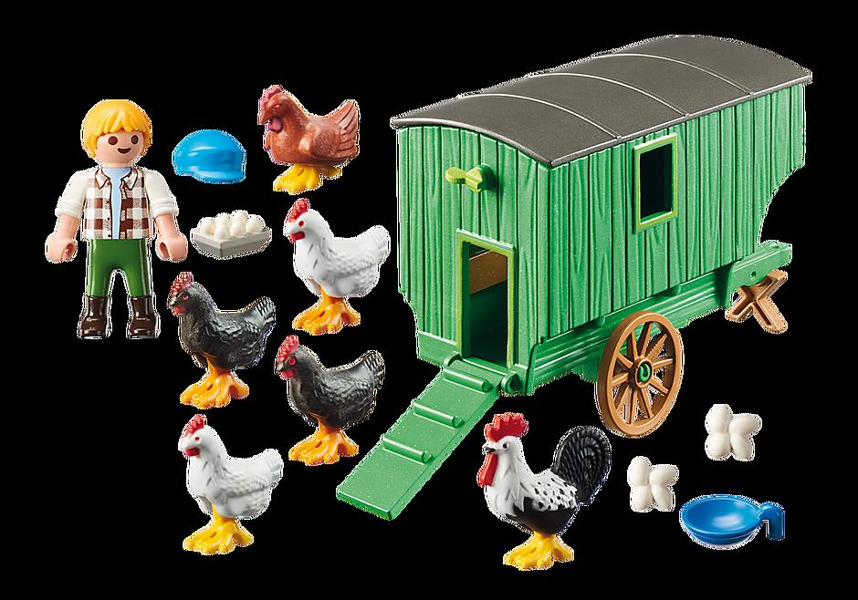 70138 Chicken Coop detail image 3