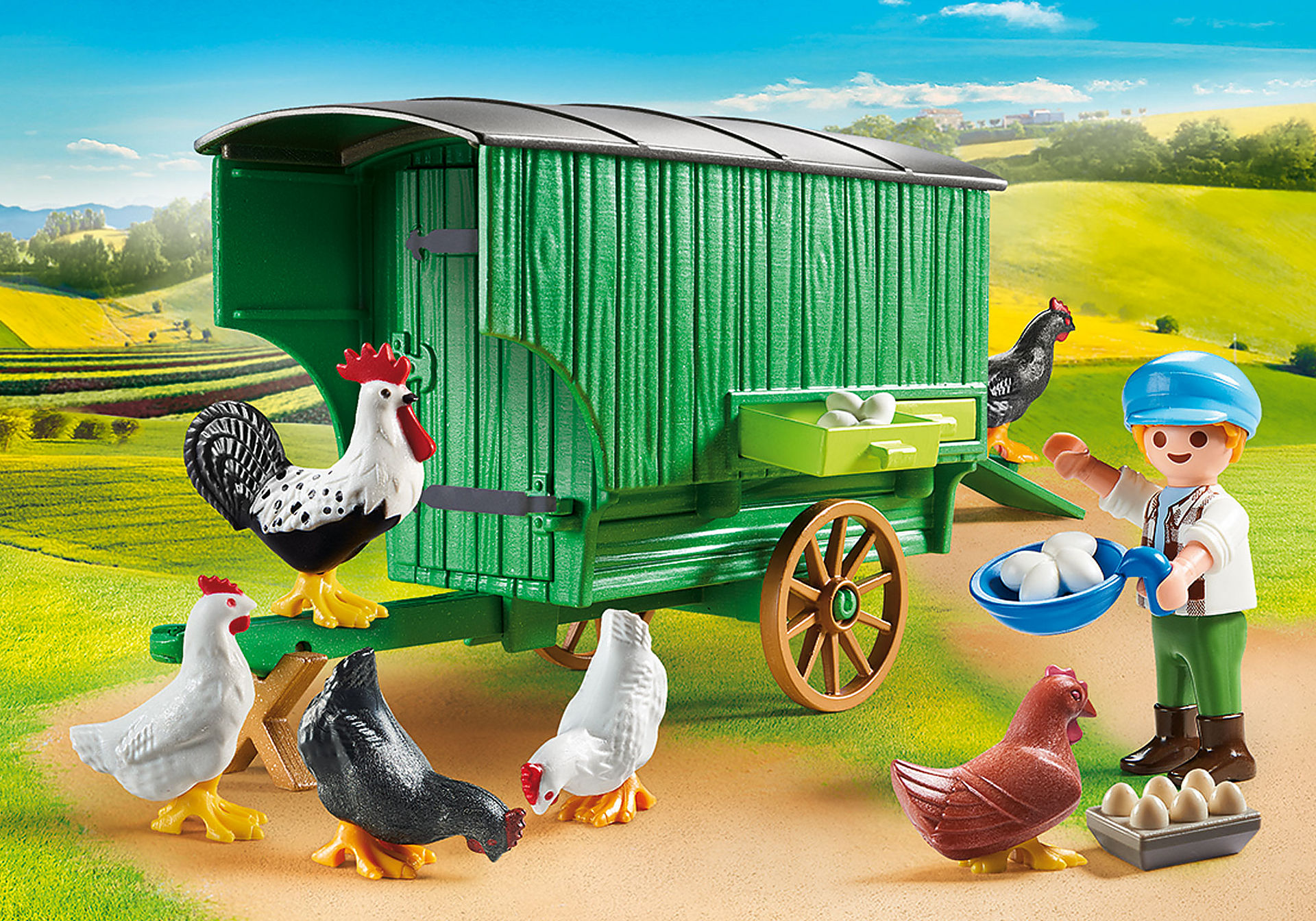 70138 Chicken Coop zoom image1